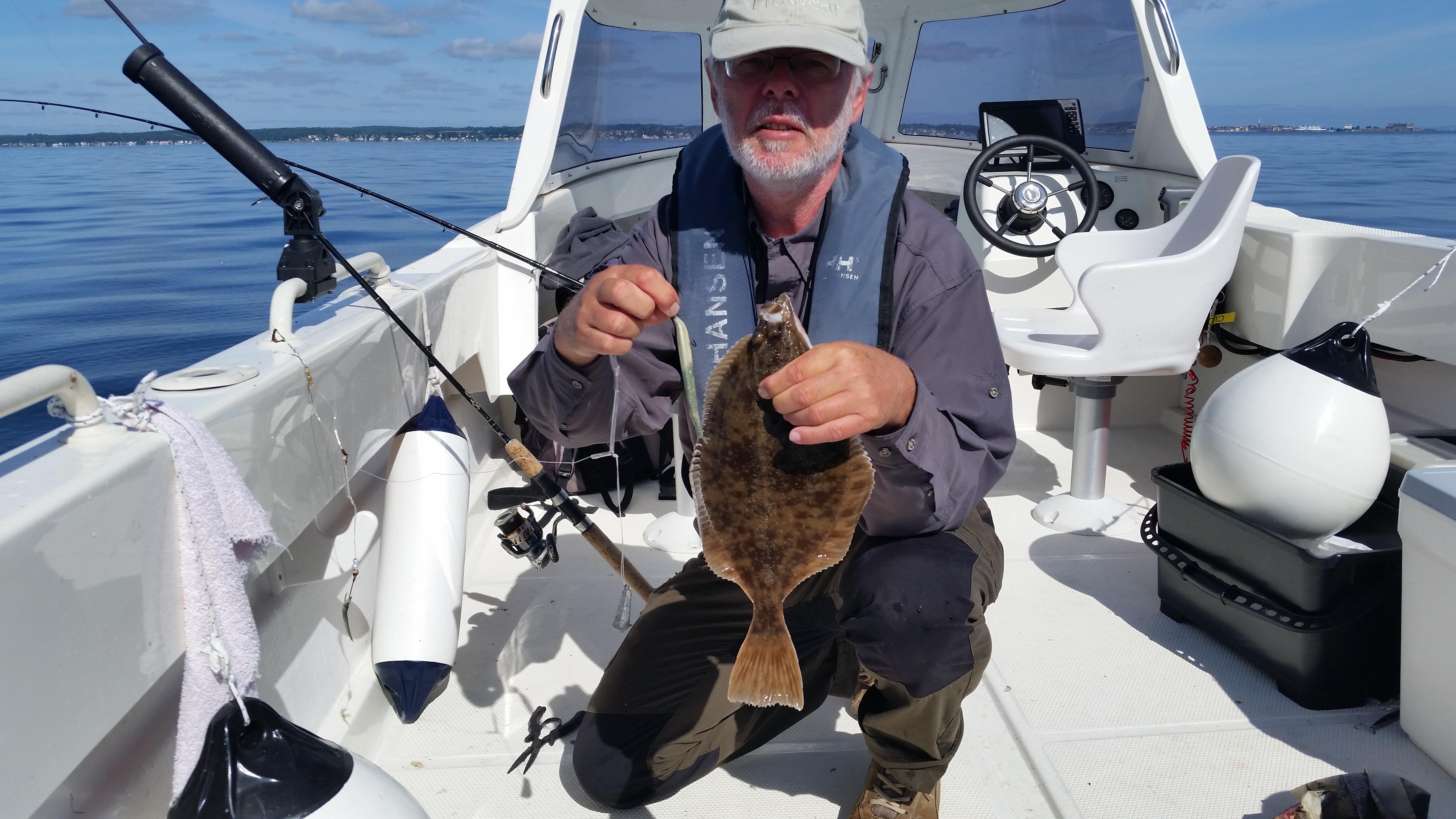 Din Fiskeguide - Fladfisk på Øresund